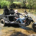 OUR TRIKE TAKES TWO PASSENGERS
