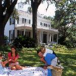 Picnic at Goodwood, one of the finest antebellum plantations and gardens.