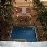 Poolside View from Suite 501