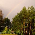 Regenbogen in Pelzkuhl
