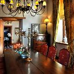The Manor House dining room