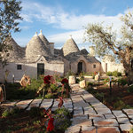 Trulli Paparale from the garden