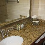 Small, clean bathroom