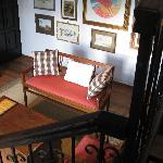 The sitting room of the suite