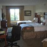 Ansicht des Zimmers