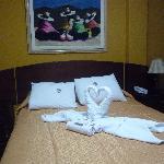 la habitaciòn del Hotel El Escudero