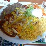 Enchilada plate