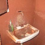 Wash room facilities.