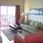 Spacious vacation condominiums