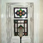 Stained Glass upstairs