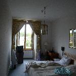 Blick in unser Zimmer (gerade eingezogen - und genutzt, daher etwas unordentlich ausschauend)