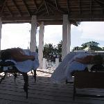 at the end of the dock a couples massage