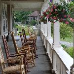 The Inn Porch at Silver Bay YMCA