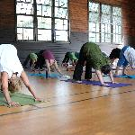 Yoga in the Gymnasium at Silver Bay YMCA