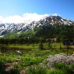 The Inn at Tern Lake from the Seward Highway
