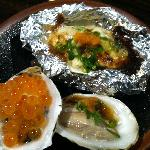 Oysters, three different ways