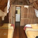 L'interno dei bungalows