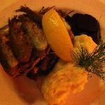 pan fried herring ... yum