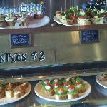More Pintxos at the bar
