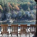 Lake front porch