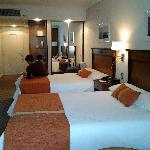 Apartamento com 2 camas de casal