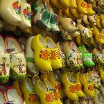 Wooden Shoes make at Dutch Village