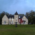 Front of hotel from the edge of Loch Shiel