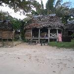 Beachfront fale