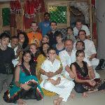 le soir de Diwali
