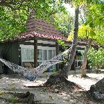 Our Bure - the hammock was nice