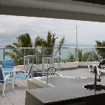 Top of Sub Penthouse.  BBQ, lounges and Spa