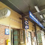 At Montevarchi station after shopping