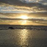 Sun set at Camps Bay