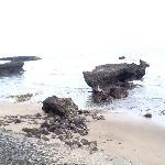 vue de la plage du Plataran