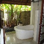 salle de bain et toilette exterieure