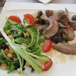 Duck and Fig salad..better than it looks