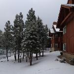 A Saturday morning after a snowfall