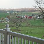 view from wrap around porch