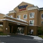 Hotel outside.