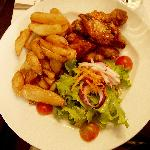 king george restaurant - the chicken wings