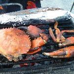 BBQ fresh seafood