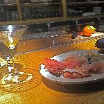 Charcuterie & Cocktail at the Bar