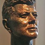John F. Kennedy in bronze