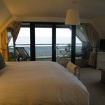 This is the Balcony Suite with its views across the Solent.