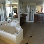 Master bedroom with whirlpool bath/ensuite