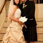 our wedding day at Rox Hotel