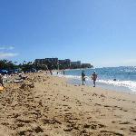 beach from Sheraton to Hyatt