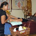 Fotmassage