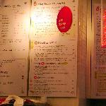 You order at the counter at Cafe O