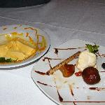Desserts - gulabjamun and mango ice-cream.We forgot to take pics straight away when food arrived